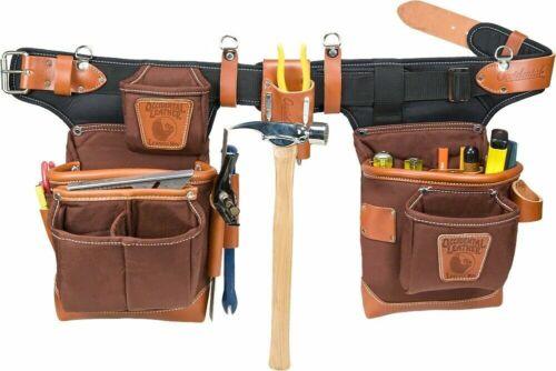 Cafe Occidental Leather 9855 Adjust-to-Fit FatLip Tool Belt Set