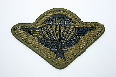 FRENCH FOREIGN LEGION ETRANGERE SUBDUED CLOTH PARACHUTE QUALIFICATION WING