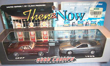 1999 Jakks Pacific Road Champs Then & Now 1967-1998 Chrevrolet Camaro Cars