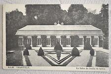 "CPA "" CHANTILLY - Le Salon du Jardin de Sylvie"