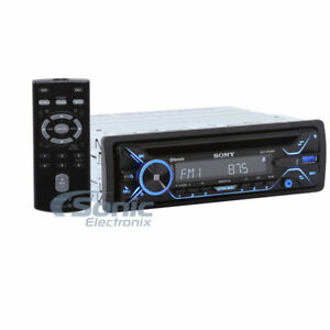 NEW!! Sony MEX-N4200BT Single DIN Bluetooth CD Multimedia Car Stereo ...