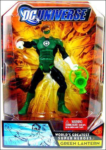 DC UNIVERSE UNIVERSE UNIVERSE GREEN LANTERN WAVE 3 GRUNDY FIGURE  MOC  ec6de3
