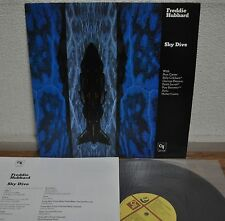 Freddie Hubbard Sky Dive Japan LP 1978 King LAX 3192 Insert CTI