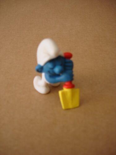 Figurine PVC Les Schtroumpfs Schleich Neuf Schtroumpf paresseux