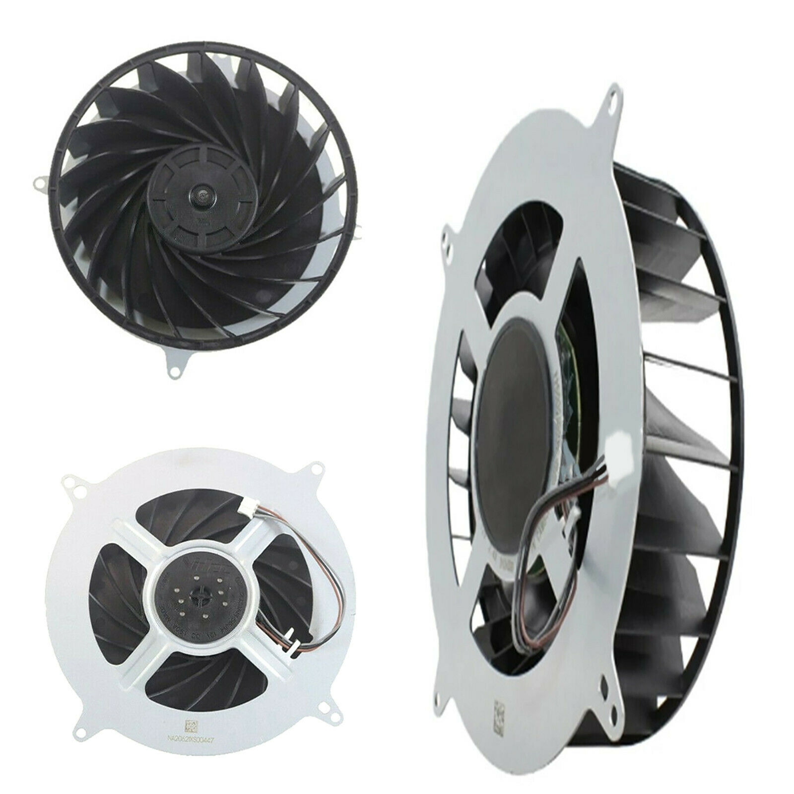 Cooling Fan 17 Blades Cooler Fan G12L12MS1AH-56J14 Fit for PS 5 Game Console