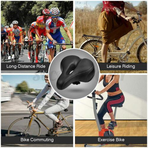 Comfort Wide Big Bum Soft Cruiser MTB Bike Saddle Bicycle Seat Air Cushion Pad