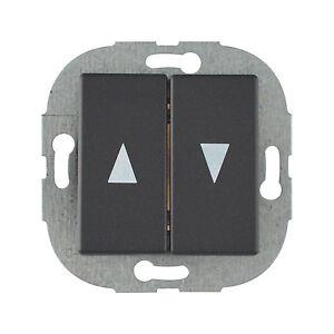 Duwi Trend Jalousieschalter Coolgrey Rolladen Elektro Schalter
