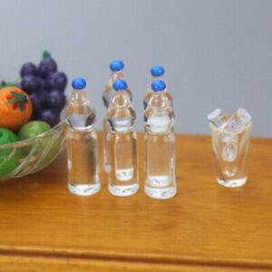 4Pcs-Dollhouse-Miniature-Mineral-water-food-scene-model-doll-house-accessoriATA