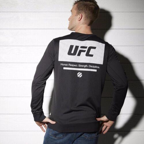 AP6812 New Men/'s REEBOK UFC FAN MESH PULLOVER MSRP $65