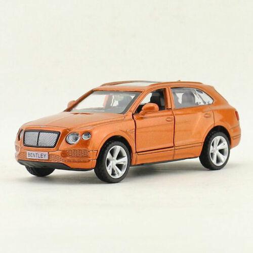 1:45 Bentley Bentayga Off-road SUV Model Car Diecast Gift Toy Vehicle Kid Orange