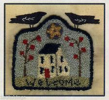 My Shepherd Sheep Crow Heart PN088 Punchneedle Punch Needle Embroidery Teresa Kogut Pattern