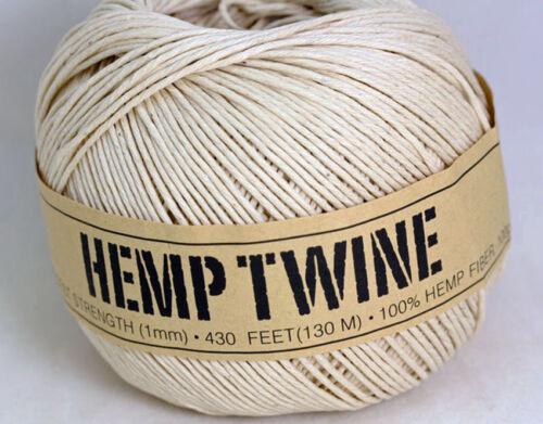 2080 HEMP TWINE // CORD ft  Macrame BEST PRICE  5 Spools Off 130 Mt = 650 Mt