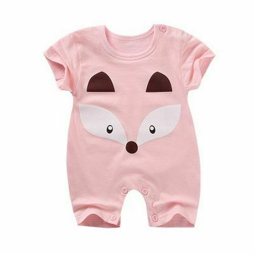 Baby Clothes Summer Baby Rompers Short Sleeve Newborn Infant Boy Girl Clothes