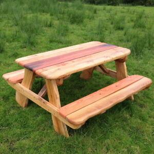 Pleasant Details About Oak Picnic Table 8 Seat Wooden Pub Garden Bench Perfect Summer Furniture Dailytribune Chair Design For Home Dailytribuneorg