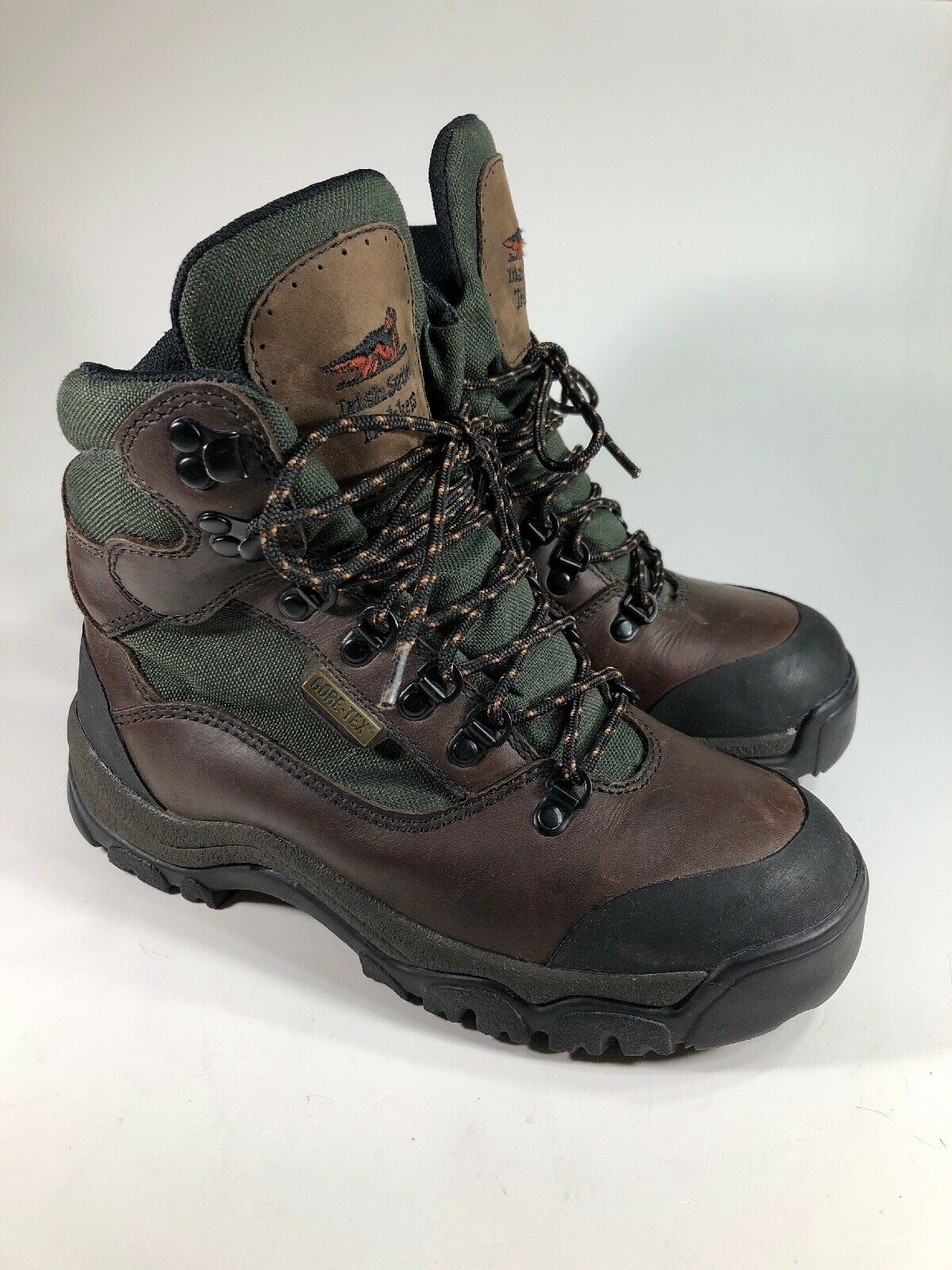 Irish Setter Trekkers Gore-Tex Brown Leather Boots Goodyear Sole Womens Size 6.5