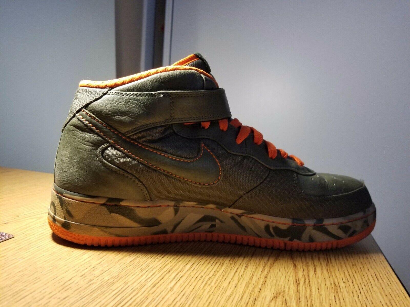 Shoes Rare One Berlin 2007 Force 1 Camoflauge Air Mens Nike