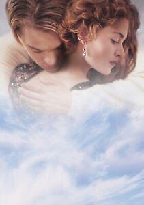 TITANIC Movie PHOTO Print POSTER Film Art Leonardo DiCaprio Kate Winslet 008
