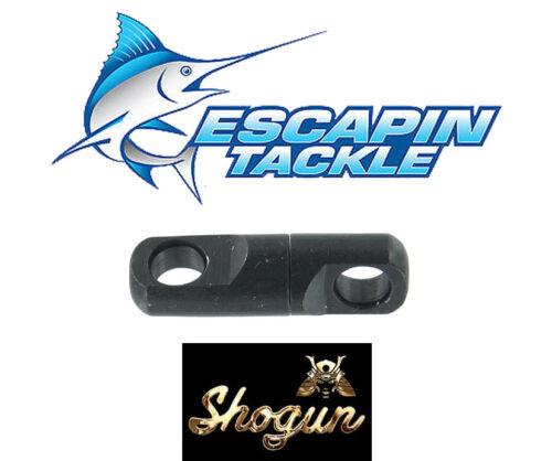 SHOGUN 9mm Torpedo Swivels Pack of 3 620kg Game fishing Swivels