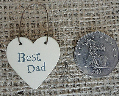 SHABBY CHIC FATHERS DAY DAD GRANDAD DADDY BIRTHDAY CHRISTMAS GIFTS SELECTION