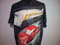 Short Sleeve Silk Shirt - Tulliano - Button Front