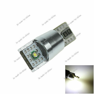 1X Car 2 LED CREE SMD Canbus Error Free T10 W5W Wedge Side Light Bulb Lamp A093