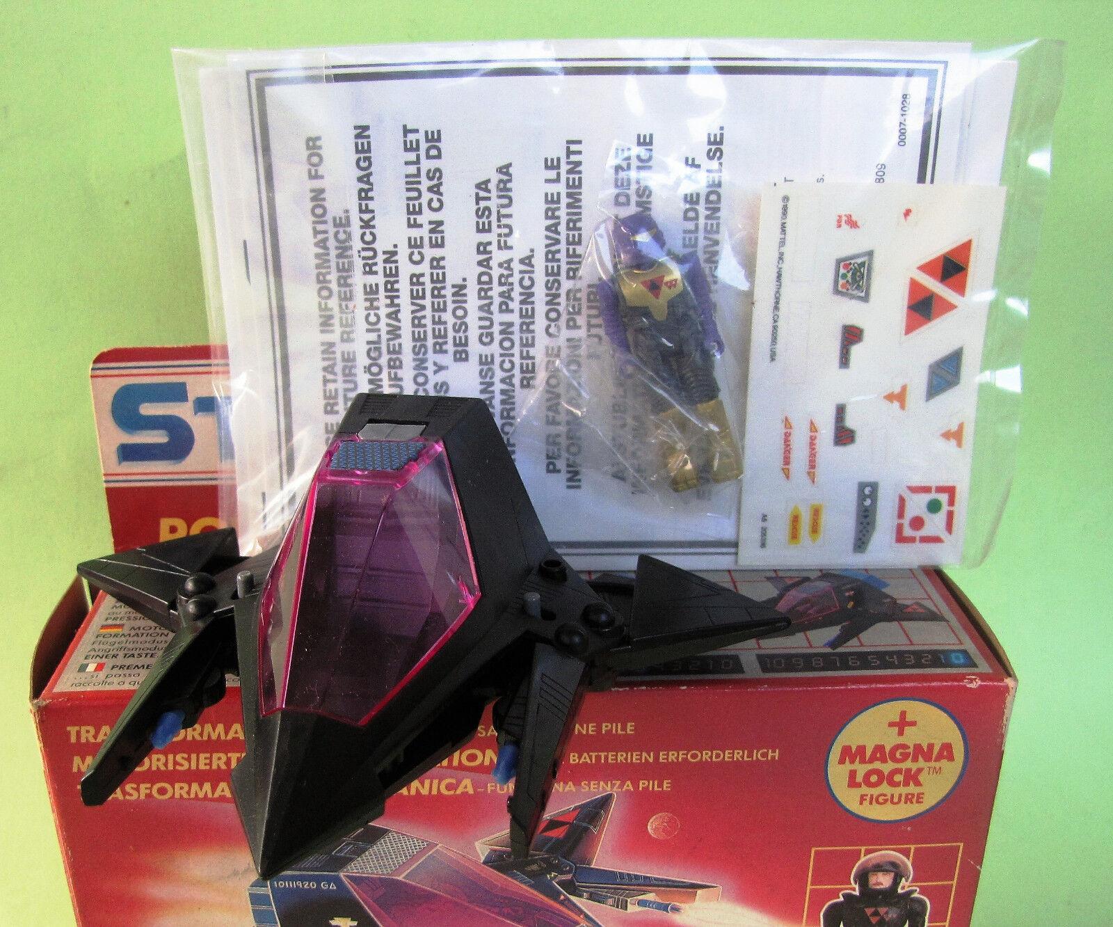 Starcom Shadow Parasite Capt.Hydrone European Exclusive Mattel 1990 MIB