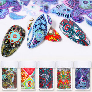 Nagel-Folien-Abziehbilder-Perris-Nail-Art-Transfer-Decal-Stickers-Paper-Nail-Art