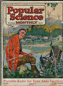 JUNE 1924 POPULAR SCIENCE MONTHLY MAGAZINE 138 PAGES ...Rhere Popular Magazine