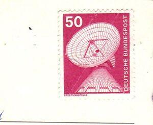 50 Pfennig Briefmarke ungestempelt 1982 - Lübeck, Deutschland - 50 Pfennig Briefmarke ungestempelt 1982 - Lübeck, Deutschland