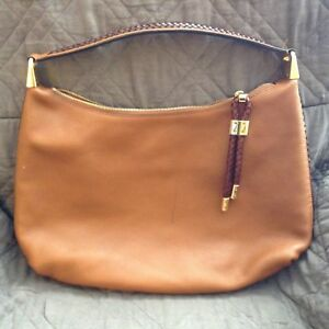 9ad0533d2436 Image is loading Michael-Kors-Collection-Skorpios-Large-Leather-Hobo