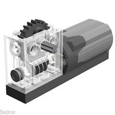 Lego Power Functions M-Motor with Reducer Block  (technic,axle,gear,truck,t