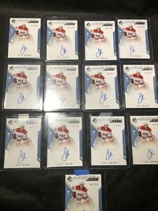 2019-20-SP-Authentic-Jake-Bean-Rookie-Future-Watch-Auto-Lot-999-13x-Invest