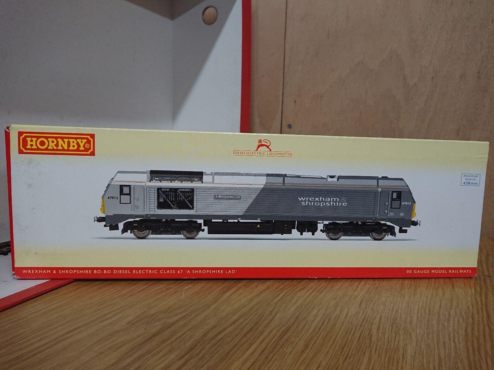Hornby R3038 Wrexham & Shropshire Bo-Bo Diesel Electric Shropshire Lad DCC Ready