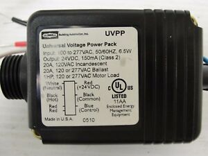 Details about Hubbell UVPPQTI Universal Voltage Power Pack 100-277 VAC in  24 VDC out
