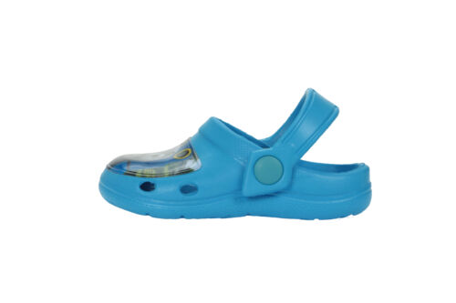 Boys Thomas The Tank Engine Slip On Beach Sandals Clogs Mules Kids Sizes 5 to 10