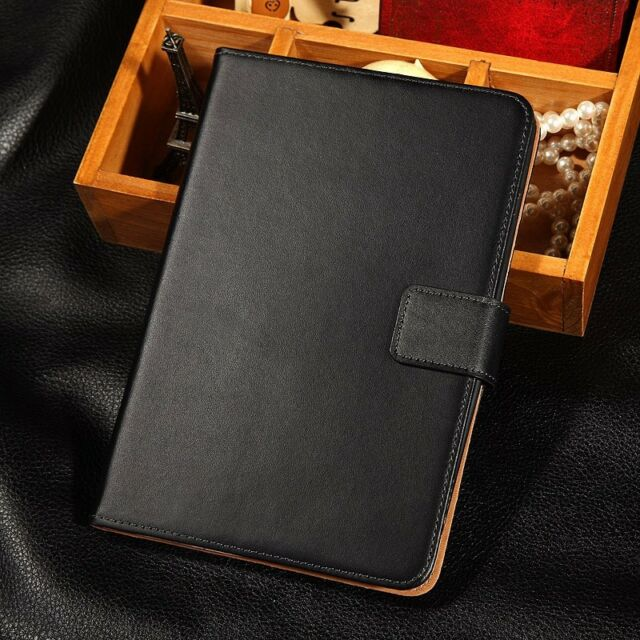 Genuine Leather Flip Smart Case Cover For Apple iPad Mini 2 With Retina Display