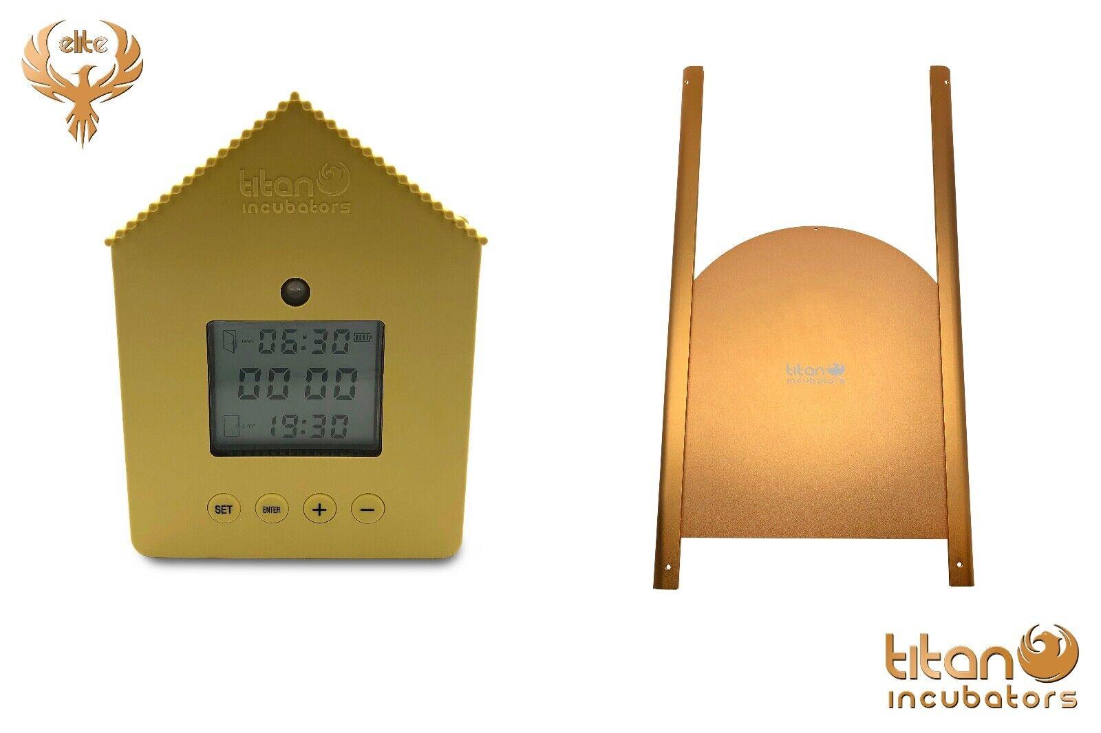 disegni esclusivi Elite imbullonata + POLLO automatica casa maniglie con sensore sensore sensore di luce e timer  nuovo sadico