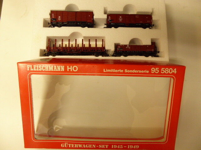Fleischmann 955804 beni Wagenset SPECIALE SERIE SERIE. 0975 OVP