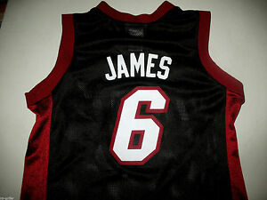 e4c7660d152 mint - LeBRON JAMES Jersey - NBA Miami Heat - Youth Boys M 8-10