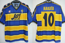 2001-2002 Parma AC Jersey Shirt Maglia Home Joy parmalat Champion Nakata #10 L