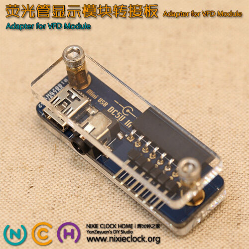 Adapter for IV-22 VFD tube Module - Limited (Arduino Compatible) FreeShipping