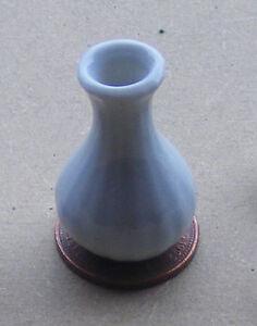 1:12 Scale White Ceramic Vase Maison De Poupées Miniature Ornement Fleur Titulaire W60-afficher Le Titre D'origine Des Friandises AiméEs De Tous