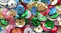 SEQUINS // Rig Attractors // Stops Sea Fishing MIXED COLOURS 8 mm and 6//7 mm