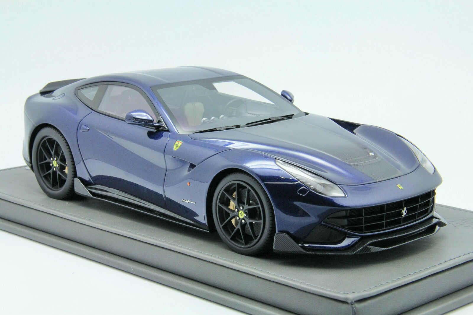 1 18 BBR DMC F12 Ferrari Tour De De De France bluee Exclusive Free Shipping b08d54