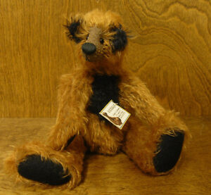 Artist-Exclusive-FOXIE-10-034-mohair-fully-jointed-LE-We-Be-Bears-by-P-Crosthwaite