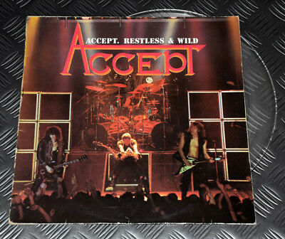 Accept 'Restless & Wild' 1st Issue LP Clear Color Vinyl Record VG+/VG Rare  UDO | eBay