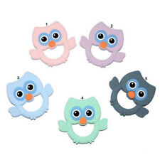 Baby Teether Silicone Soother Bendable,Chewable Teething Stocking Filller Toy