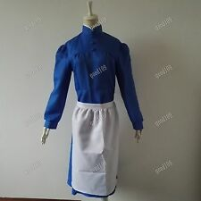 Howl's Moving Castle Sophie Hatter Lolita Dress Cosplay Costume Custom Any size