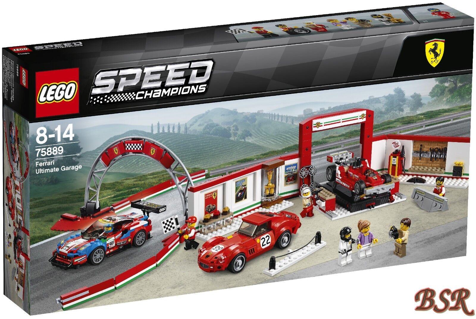 LEGO ® Speed Champions: 75889 FERRARI estrema garage & 0.€ Spedizione NUOVO & OVP