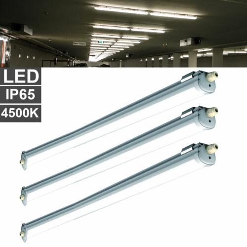 Wannen Leuchte Garage Lampe IP65 Lager Werkstatt Keller LED 2x 4x 6x 8x Decken